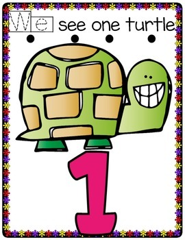 Sight Word We and /T/ printable Booklet for student's book boxes