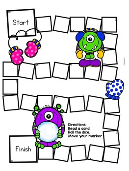 Free Sight Word Activity for Winter