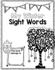 Winter Sight Word Editable