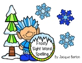 Frosty Sight Word Spelling (Journeys K aligned)
