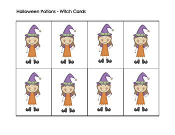 Sight Word Witch Game K - 2