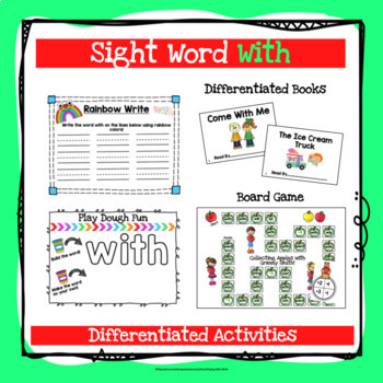 Sight Word With Activities
