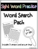 Sight Word Word Search Fun