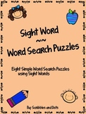 Sight Word ~ Word Search Puzzles