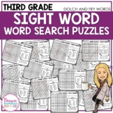 3rd Grade Sight Word - Word Search Puzzles