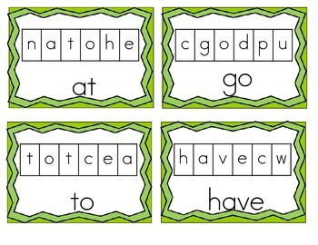 Sight Word Word Search Puzzles for Beginners