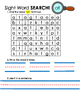 Sight Word Word Search and Writing Activities
