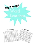 Sight Word Word Searches