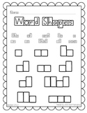 Sight Word - Word Shapes