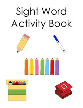 Sight Word Word Work Book