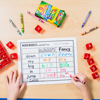 Dolch Sight Words Word Work