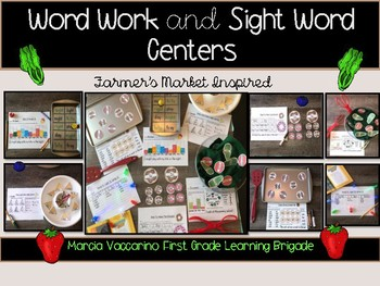 Sight Word Word Work Center