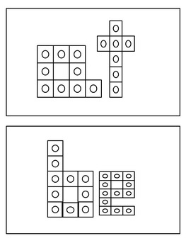 Sight Word Word Work with Connecting Cubes