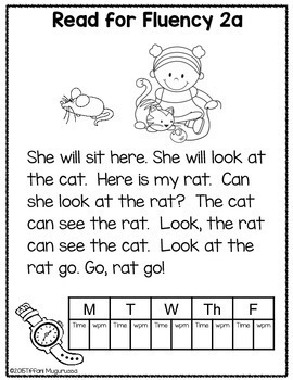 Sight Word Work 2a