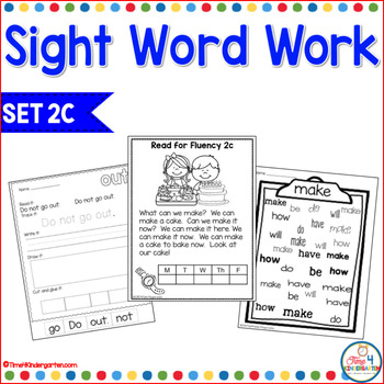 Sight Word Work 2c