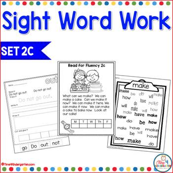 Sight Word Work 2c