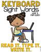 Sight Word Work Keyboard List 5