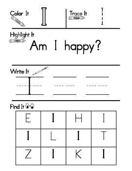 Sight Word Work Set 1