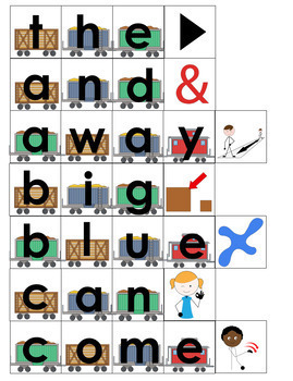 Sight Word Work Task- Spell, match, write, say (Autism and Special Education)