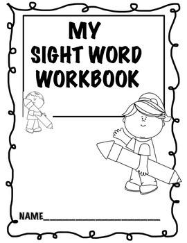 Sight Word Workbook