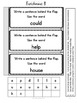 Sight Word Workmats aligned with HeidiSongs & Interactive Notebook Ready!