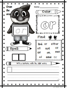 Sight Word Worksheets/Book List 2