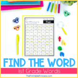 Sight Word Worksheets: Dolch 1st Grade List