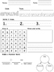 Sight Word Worksheets- Grade 2 Dolch Word List