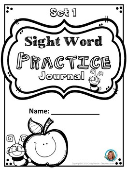 Sight Word Worksheets Pre-Primer Practice