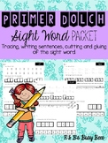 Sight Word Worksheets Primer Dolch Set