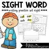 Sight Word Worksheets Set Eight