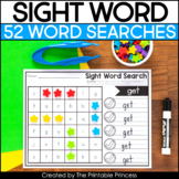 Sight Word Worksheets | Sight Word Searches Set 2