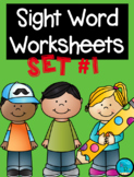 Sight Word Worksheets {see, is, I, the, like}