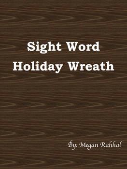 Sight Word Wreath