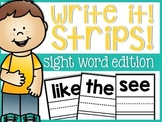 Sight Word Write it Cards
