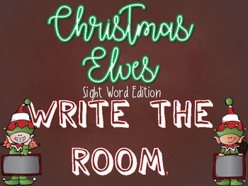 Sight Word Write the Room