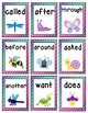 Sight Word Write the Room:  Insect Themed