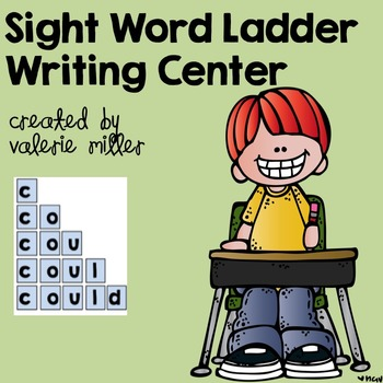 Sight Word Writing Center