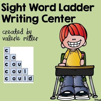 Sight Word Writing Center
