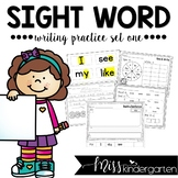 Sight Words Worksheets Set One