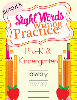 Sight Word Writing Practice - BUNDLE