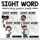 Kindergarten Sight Words | Sight Word Practice Bundle