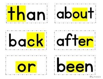 Sight Word Writing Practice Six