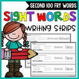 Fry Sight Words Activities - Second 100 words | Fry Words Worksheets