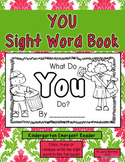 "Sight Word ""YOU"" Emergent Reader"