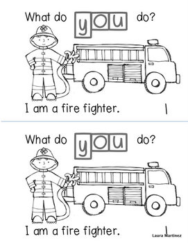 """Sight Word """"YOU"""" Emergent Reader"""