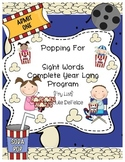 Sight Word Year Program {Popcorn Words-60+Pages} Common Core Aligned