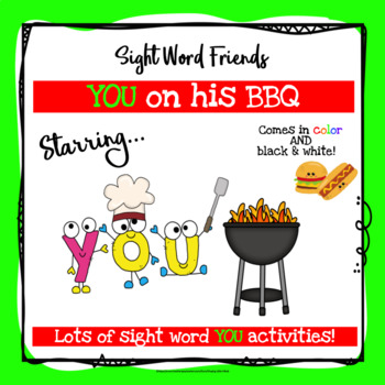 Sight Word You Activities