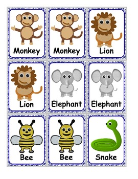 Sight Word Zoo