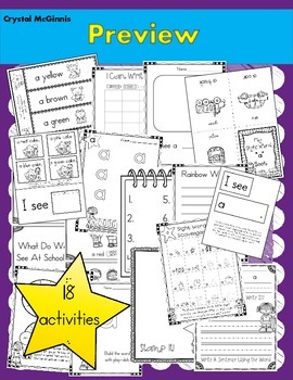 Sight Word of the Week (18 Activities for the word A)